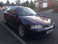 Audi a3 sport, low mileage