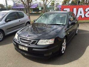 2003 Saab 9-3 MY03 ARC 2.0T Black 5 Speed Automatic Sedan Campbelltown Campbelltown Area Preview