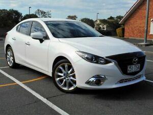 2014 Mazda 3 BM5238 SP25 SKYACTIV-Drive White 6 Speed Sports Automatic Sedan Chermside Brisbane North East Preview