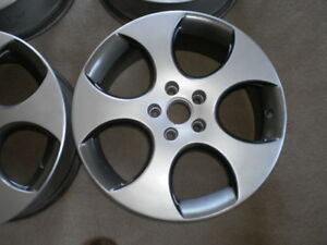 VW 18 inch alloy rims, like new tires