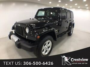 2014 Jeep Wrangler Unlimited Sahara | Leather | Navigation