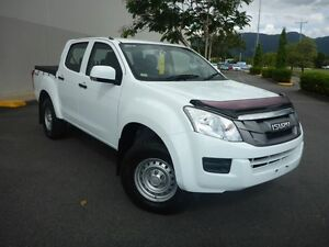 2014 Isuzu D-MAX MY14 SX Crew Cab White 5 Speed Manual Utility Cairns Cairns City Preview
