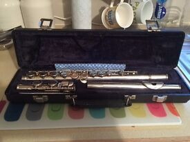 Sapphire flute- very good condition by Rosetti London
