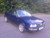 Audi 80 Cabriolet final edition with low mileage