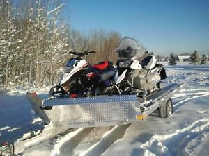 WOW! BRAND NEW 2017 ALUMINUM SLED / QUAD TRAILER, FULLY LOADED!!