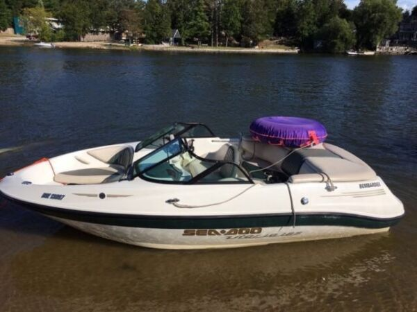 Used 2001 Sea Doo/BRP Utopia 8 Seater!
