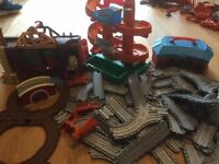 Thomas Take and Play track incl Tidmouth Sheds, Morgan's Mine, & Misty Island Rescue.