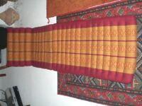 Thai triangle cushion bed