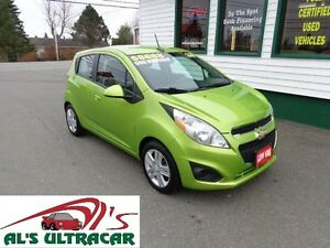 2013 Chevrolet Spark LS only $98 bi-weekly all in!