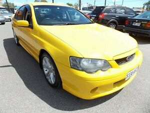 2005 Ford Falcon BA Mk II XR6 Yellow 4 Speed Sports Automatic Sedan Enfield Port Adelaide Area Preview