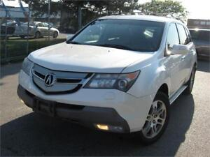 2009 Acura MDX 154 km 7 PASSNEGR CERTIFIED! RUNNING BOARD