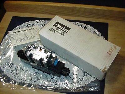 Parker Hydraulics Valve D1VW4CNYCF475XB602 Elevator Parts Control Valve 120V