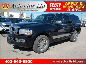 2010 LINCOLN NAVIGATOR 4X4 LEATHER ROOF DVD