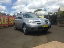 2005 Mitsubishi Outlander ZF LS Silver 4 Speed Auto Sports Mode Wagon Woodbine Campbelltown Area Preview