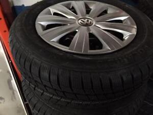 "ON SALE NEW OEM VW 15"" with Hankook winter Icept IZ winter package City of Toronto Toronto (GTA) Preview"
