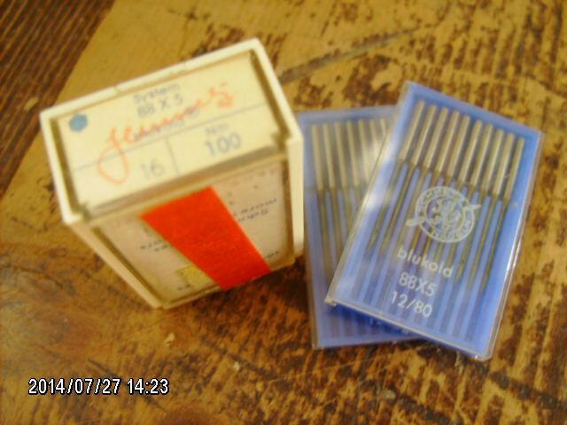 137 pc lot Schmetz 88x5 BLUKOLD sewing machine needles