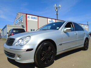 2007 MERCEDES-BENZ C 280 SPORT-LEATHER-SUNROOF--ONLY 97K