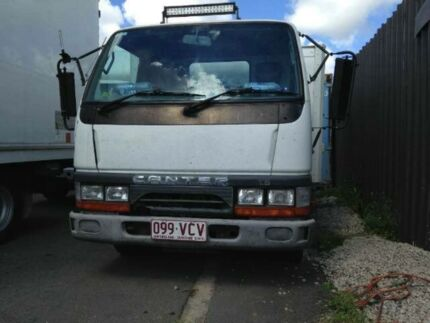 1999 Mitsubishi Canter Freezer/Fridge White Cab Chassis 2.8l RWD Greenslopes Brisbane South West Preview