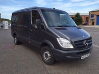 Mercedes Sprinter excellent condition with no damage and only used for light work(TV repair company)