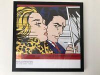Framed Lichtenstein print - In the Car, c.1963