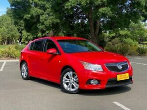 2013 Holden Cruze JH Series II MY13 SRi Red 6 Speed Manual Hatchback Enfield Port Adelaide Area Preview