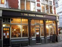 Kitchen Porter for London Gastro Pub