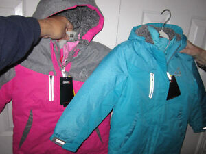 "Jackets, Winter,Girls size 6/6X, ""Gerry"", 3 jkts in 1,BNWT:REDUC"