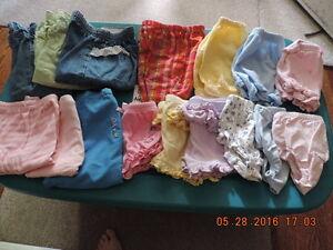 Girl's Summer Clothing - Newborn to 18months