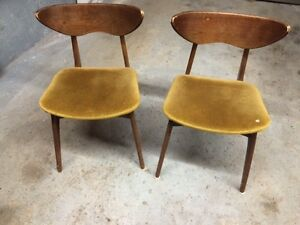 Free 1960's type chairs