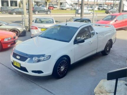 2008 Ford Falcon FG White Sports Automatic Cab Chassis Lansvale Liverpool Area Preview