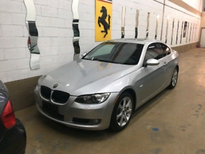 BMW 335XI 2008 Red Interior coupe turbo