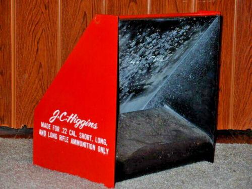 Vintage Sears Roebuck J. C. Higgins .22 caliber bullet trap