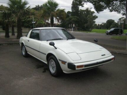 1979 Mazda RX7 Super Deluxe White 5 Speed Manual Coupe Burwood Burwood Area Preview