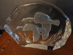 Paperweight, Crystal Sculpture