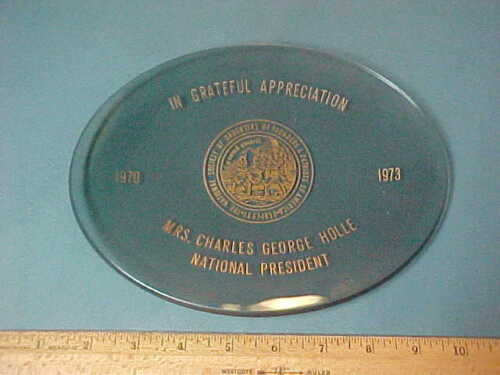 Vintage Daughters of Founders and Patriots of America 1970-1973  President Award