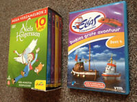Boxed set of 4, + 1 extra Dutch Kids DVDs (5 in total)