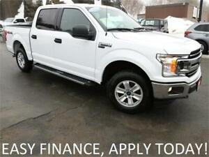 2018 Ford F-150 XLT 4X4! CREW! TOW PKG! BACKUP CAM! BLUETOOTH!