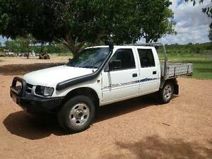 2001 Holden Rodeo  diesel 4x4 Ute Millchester Charters Towers Area Preview