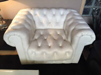 Wonderful White Esquire Chair **In Stock**