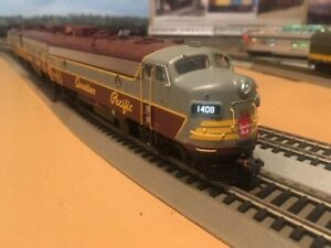 "HO model train set by Rapido. ""The Canadian"", CP script"