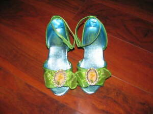 Disney Store Tinkerbell Dress Up Shoes