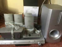 Panasonic SC-HT330 DVD Home Cinema System fully working sounds great!
