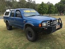 2000 Ford Courier PE GL (4x4) 5 Speed Manual 4x4 Clontarf Redcliffe Area Preview