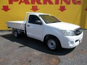 2009 Toyota Hilux GGN15R MY10 SR 4x2 White 5 Speed Manual Utility Winnellie Darwin City Preview