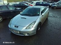 TOYOTA CELICA 1ZZ-FE 1.8 BREAKING FOR SPARES TEL 07814971951 HAVE FEW IN STOCK PLEASE CALL