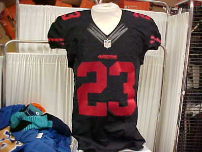 7fbb97763 2015 NFL San Francisco 49ers Game Worn Team Issued Color Rush Jersey  23  Size 40