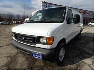 2007 Ford Econoline,DIESEL,OVER15 COMMERCIAL VANS TO CHOICE FROM