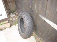 Yamaha TW 125 , 200 bridgestone tyre 180/80/14