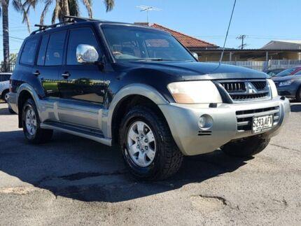 2003 Mitsubishi Pajero NP Exceed Black/Grey 5 Speed Sports Automatic Wagon Blair Athol Port Adelaide Area Preview