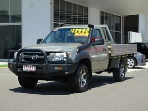 2007 Mazda BT-50 DX Gold 5 Speed Manual Cab Chassis Garbutt Townsville City Preview
